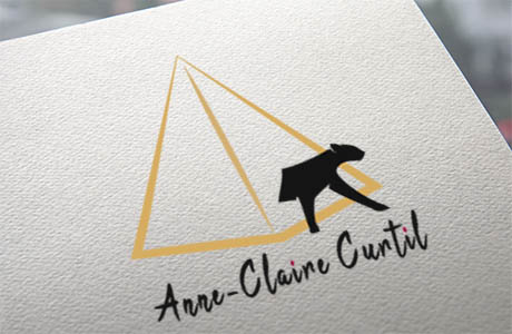 Réalisation du logo pour Anne-Claire Curtil